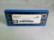 CNGA 433 T2 CC-30-C Coated Ceramic Insert