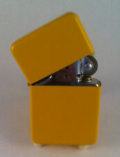 YELLOW STAR PETROL CIGARETTE LIGHTERS  *FREE ENGRAVING* *FREE POST*