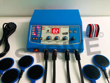 Electrotherapy Stimulator 4 channel TENS with 8 Electrodes EMS/NMS Machine