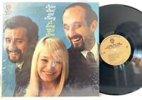 Peter Paul & Mary A Song Will Rise (in-shrink) WB Mono LP Vinyl Record Album