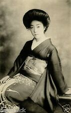 Geisha Girl Japanese Japan Woman Far East Classic 12x8 Inch Photo Reprint