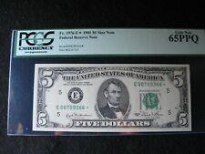 1981 $5 Federal Reserve Star Note PCGS 65PPQ  (Richmond District)