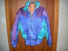 Vtg 80s 90s Descente PURPLE SKI Womens SZ 14 L Snowboard PUFFY Coat Jacket  EUC!