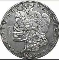 Hobo Nickel 1893 Usa Morgan dollar Coin Copy Two Face