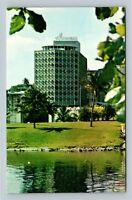 San Juan PR, El Miramar Charterhouse, Chrome Puerto Rico Postcard