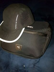 Porsche design Utility daily bag and Cap in jet black