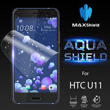 HTC U11 Screen Protector,Genuine MaxShield HD Aqua Crystal