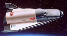 Hermes CNES French Spaceplane Wood Model Replica Small Free Shipping