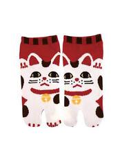 足袋ソックス TABI SOCKS Chaussettes japonaises - Manekineko 35/38 - Made in Japan