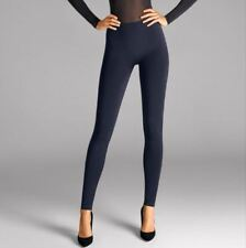 WOLFORD VISCOSE LEGGINGS SIZE SMALL UK 10 USA 6-8, colour midnight, New in box