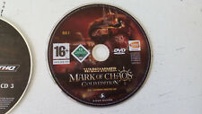 Warhammer mark of chaos gold edition dvd/disque n°2 PC FR