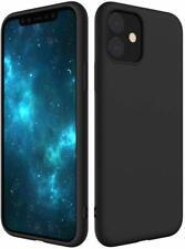 iPhone 11 Hülle AVANA Schutzhülle Silikon TPU Black Slim Fit Case Matt Schwarz