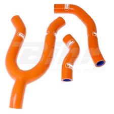 SAMCO SET MANCHON TUYAUX RADIATEUR ORANGE SXS KTM 450 F 2008-2010