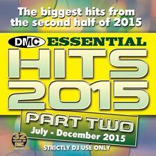 DMC Essential Hits 2015 Part 2 End of Year Chart Music DJ CD