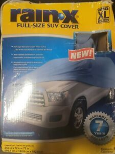 RAIN-X XL SUV Cover Waterproof Sun UV Snow Dust Rain Resistant Protection
