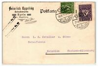 Germany 1922 Commercial Postal Card w/ Better Issues  - Z13962