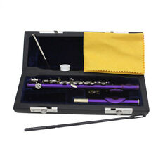 A06 C Key Silver Plated Professional Musical Instrument  Piccolo With Case Bag O