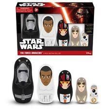 Star wars the force réveille 5 pièce nesting doll set-finn, Kylo ren, BB-8, poe