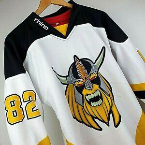 Rhino Ice Hockey Shirt Milton Keynes Storm Size M Unisex