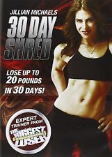 JILLIAN MICHAELS 30 DAY SHRED (2009) FITNESS BRAND NEW AND SEALED UK R2 DVD