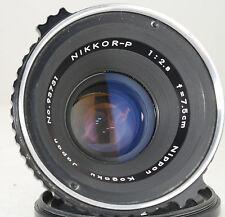Nippon Kogaku Nikkor-P 75mm f2.8 Lens for Zenza Bronica S2 EC - 7.5cm