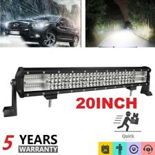"20""inch 1200W Pods LED Light Bar Flood Spot Combo Off-road FOR SUV ATV UTE"