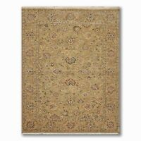 6' x 9' Samad Indian Agra Oushak Hand Knotted Wool Oriental Pile Area Rug Sage