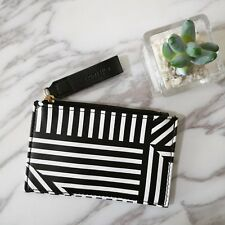 New Estee Lauder Black & White Coin Card Case