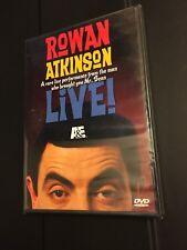 Brand New Sealed! Rowan Atkinson Live (DVD, 2007) Region 1
