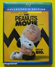 The Peanuts Movie (Blu-ray/DVD, 2016, 2-Disc Set) Like New - NO DIGITAL CODE
