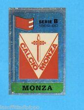 PANINI CALCIATORI 1989/90 -Figurina n.432- SCUDETTO - MONZA -Recuperato