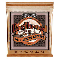 Ernie Ball Earthwood Medium Light Phosphor Bronze Acoustic Guitar Strings P02146