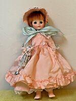 "14"" Madame Alexander Doll LUCINDA Portrait Series Used Dress Needs TLC No Box"