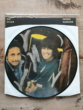 Bob Dylan & George Harrison Sessions Picture Disc LP Bootleg 500 copies NM 45RPM