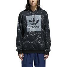 Adidas Men's Other Sports Marble Print Hoodie Black-White DH3922