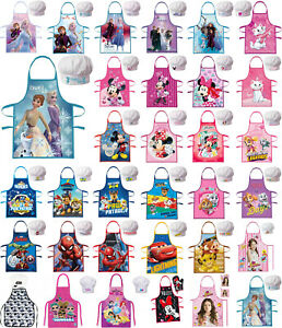 Kinder Kochschürze SET Schürze Backschürze 2-3 Teilig Frozen Paw Patrol Minnie