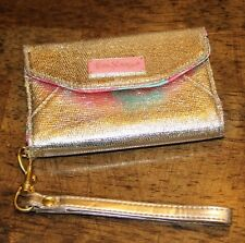 NWOT Lilly Pulitzer iPhone 4 / 4s Phone Wallet Wristlet Case Flamingos