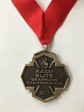 Jiu-Jitsu Kasai Wrestling Grappling Championships Medal Wash.Dc 2017 Bronze