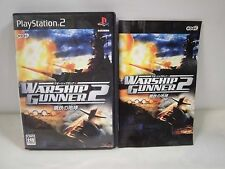 PlayStation2 -- Warship Gunner 2 Kurogane no Houkou -- PS2. JAPAN GAME. 45358