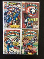 4 Issue Lot - Captain America 404, 405, 409, 413 Avengers