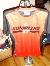 Boy's Rbx Performance X-Dri Red & Black Athletic Shirt Size L 16/18 Nwt