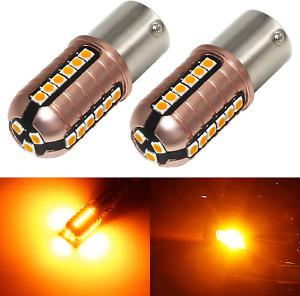 Phinlion 3000 Lumens Ba15S 1156 Led Turn Signal Light Bulbs Super Bright 3030 27