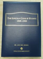 The Lincoln Coins And Stamps 1909 -1958 - Postal Commemorative Society
