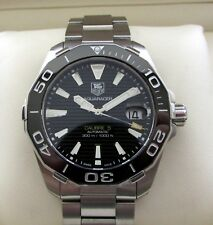 Tag Heuer Aquaracer Automatic Watch Ceramic WAY211A Boxed & Papers RRP £2050