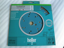HELLER Disco de corte diamante turbo Cut 300 x 25,4mm Universal
