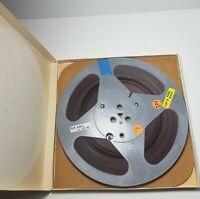 "Scotch Metal Reel to Reel 10"" Pro Sound Recording Tape 1980's Vtg Music Audio"