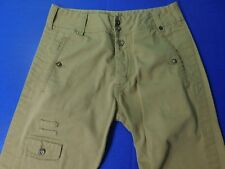 Diesel Military Style Tan Pants Men's 30X30 Button Fly Swashbuckling Frigate