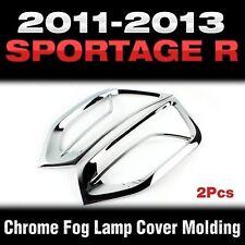 Foglight Chrome Cover Molding Trim LH + RH Fit KIA 2011 2012 2013 Sportage R