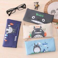 Anime Cartoon Totoro Pencil Case School Student Pen Box Stationery Makeup Bags