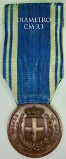 2862) Medaglia Al Vaore di Marina Torre Mileto 1905 Ferraris grado bronzo